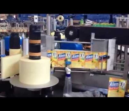 Jerry Can and Bottle Labeling Machine