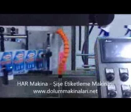 Şişe Etiketleme Makinası