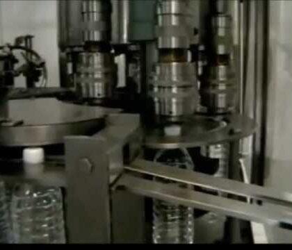 Rotatif Dolum ve Kapatma Makinası