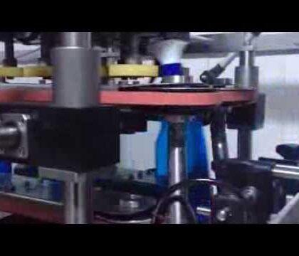 Lineer Kapak Sıkma Makinası