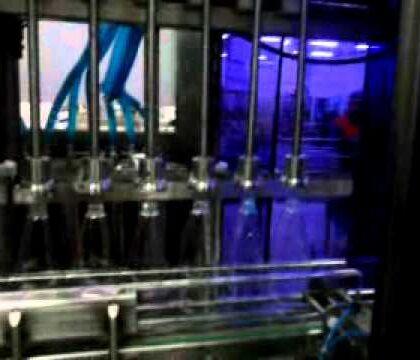 13 Nozullu Cam Temizleyici Dolum Makinası