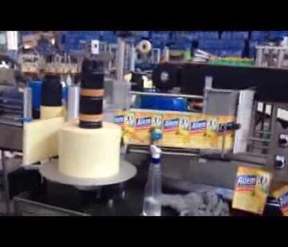 Bidon ve Şişe Etiketleme Makinası
